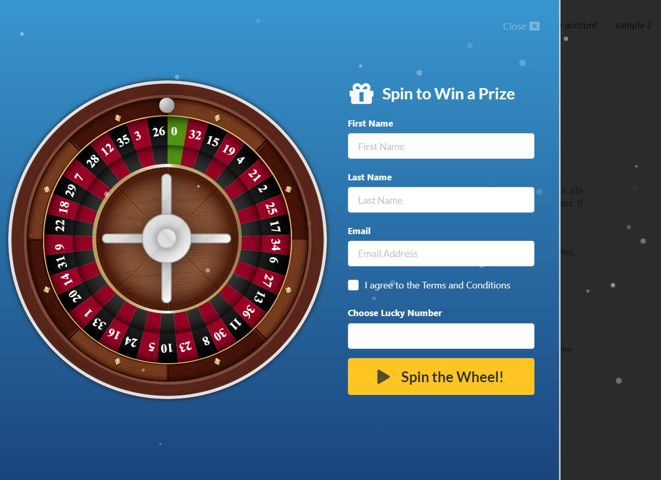 WP Roulette Wheel – Spin to Win WooCommerce Coupons - 5