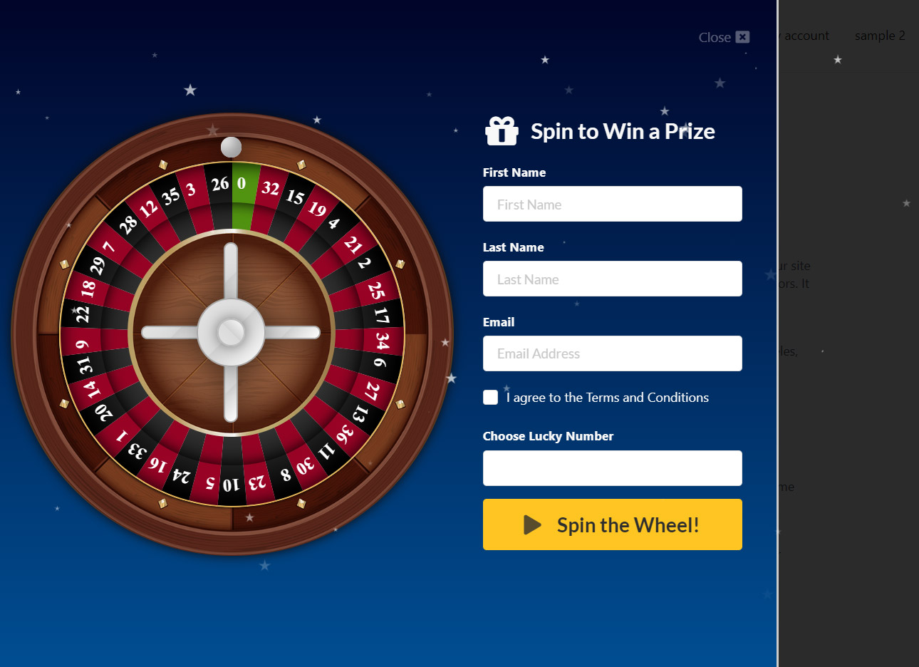 WP Roulette Wheel – Spin to Win WooCommerce Coupons - 3