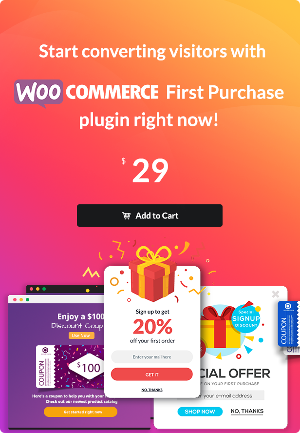 WooCommerce First Purchase - Discount Coupon Promotions - 4